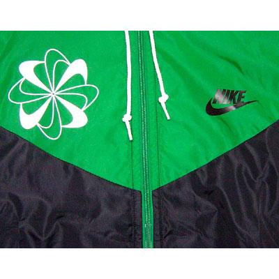 Nike Original Windrunner Pinwheel Green Seitenansicht