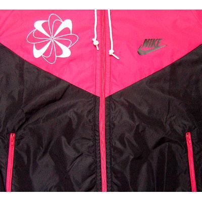 Nike Original Windrunner Pinwheel Pink Seitenansicht