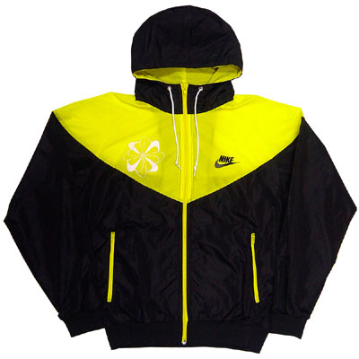 Nike Original Windrunner Pinwheel Yellow Right