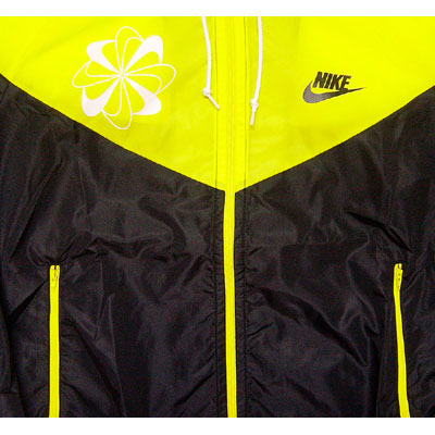 Nike Original Windrunner Pinwheel Yellow Profile