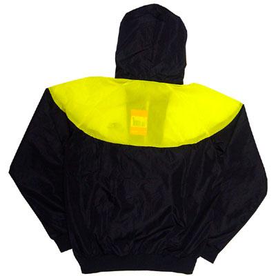 Nike Original Windrunner Pinwheel Yellow Sidedetails