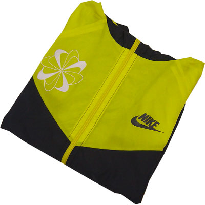 Nike Original Windrunner Pinwheel Yellow Inside