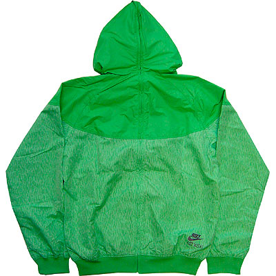 Nike Storm Windrunner Green Sidedetails