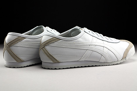 Onitsuka Tiger Mexico 66 White White Back view
