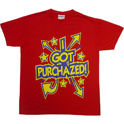 Purchaze Tee  Red Right