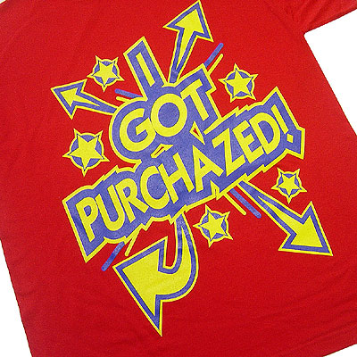 Purchaze Tee  Red Profile