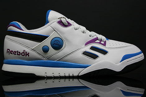 Reebok Pump Court Victory Dual Low White Blue
