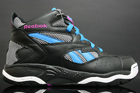 Reebok Pump D-Time Black Purple