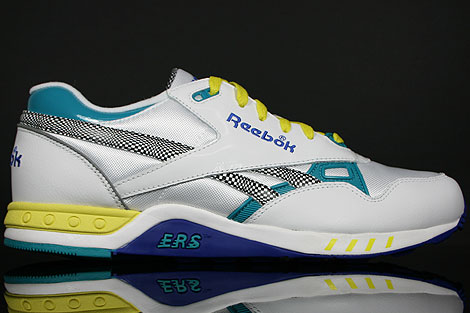 Reebok ERS 2000 White Royal Green
