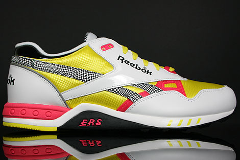 Reebok ERS 2000 White Yellow Pink