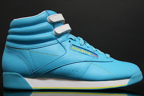 Reebok Freestyle Hi Int Brights Blue