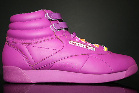Reebok Freestyle Reign-Bow Neon Purple