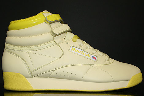 Reebok Freestyle Hi Intl Pastel Yellow