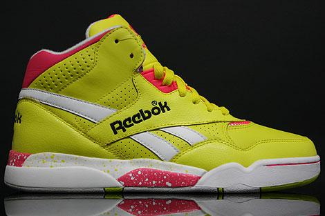Reebok Reverse Jam Mid Yellow Pink