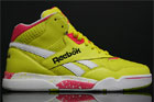 Reebok Reverse Jam Mid Yellow Pink