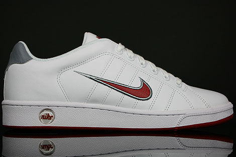 Nike Court Tradition 2 Weiss Rot Grau