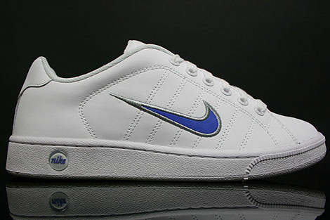 Nike Court Tradition 2 Weiss Blau Silber